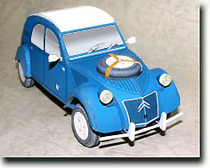Megapost Citroën 2CV