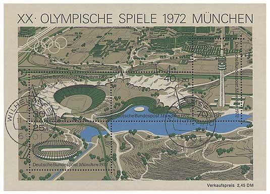 西ドイツの切手(1972年) Bundesr...